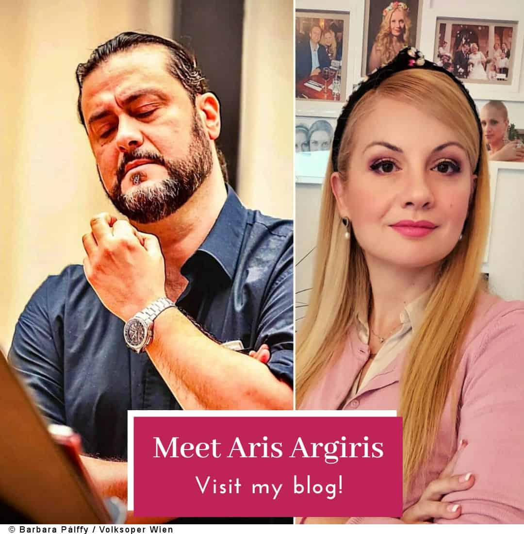Meet the Greek baritone Aris Argiris